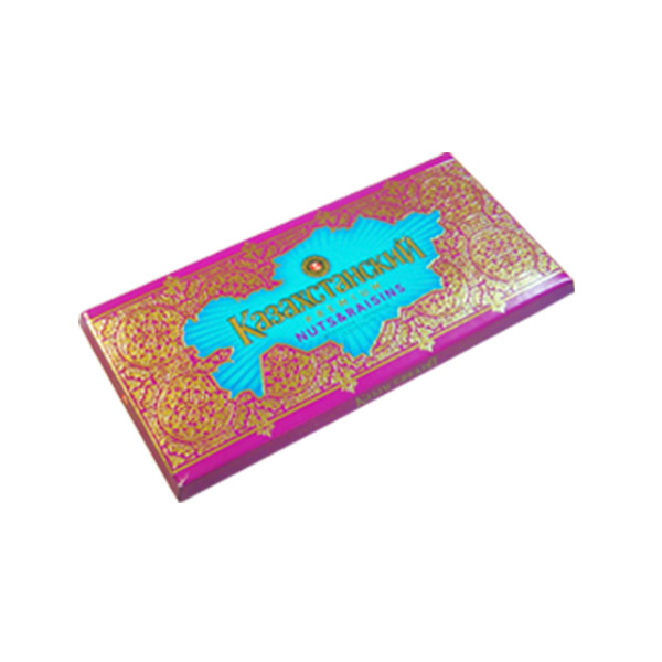 Изюм и Орех Казахстанский шоколад 100гр (Баян сулу)
