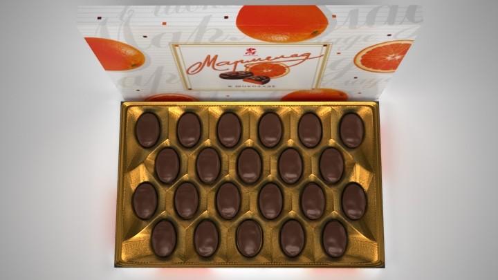 Мармелад в шоколаде 4 кг (Баян сулу)