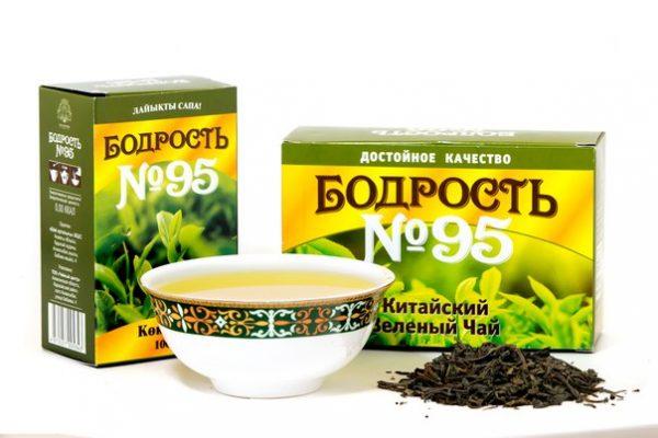 Чай Бодрость № 95 Зеленый 100 гр