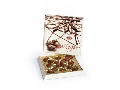 Аллегро конфеты в коробке 180 гр (Рахат)