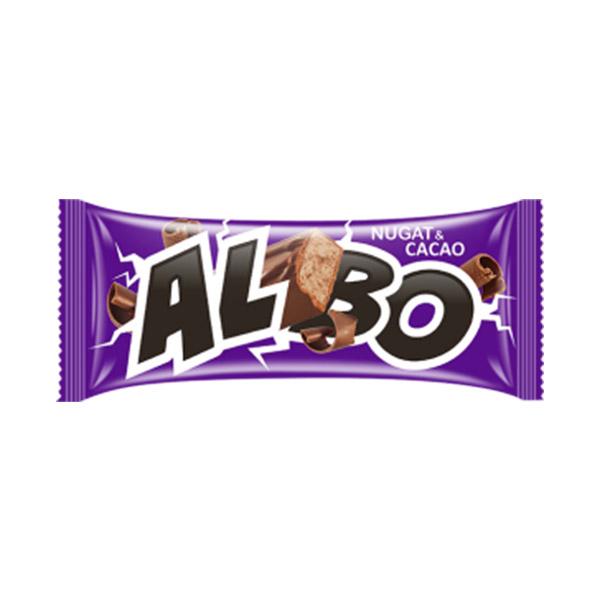 Альбо нуга и какао конфеты 0,5 кг (Баян сулу)
