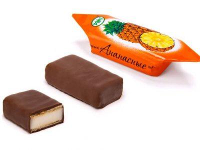Ананасные конфеты 1 кг (Рахат)