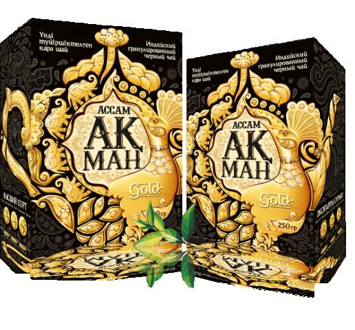 Чай Акман Голд (Gold)  Кения Лист 250 гр
