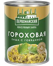 Каша гороховая с мясом говядины 340 гр (ПКЗ)