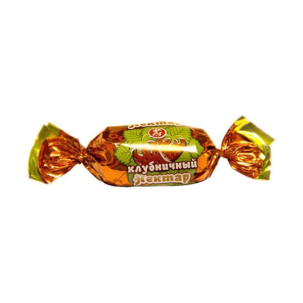 Клубничный нектар конфеты 1 кг (Баян сулу)