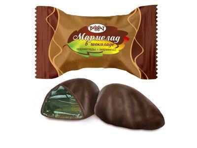 Мармелад в шоколаде 1 кг (Рахат)