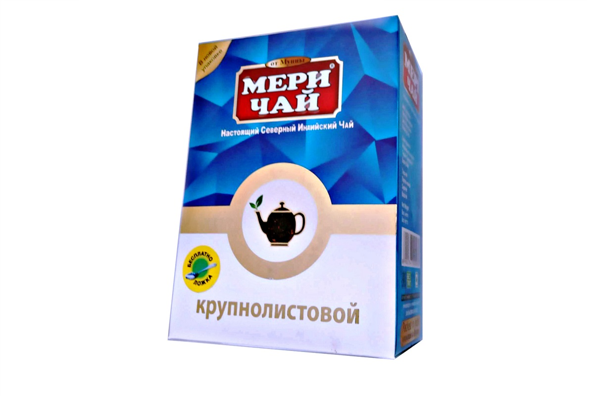 Чай Мери Крупный лист Индия 200 гр