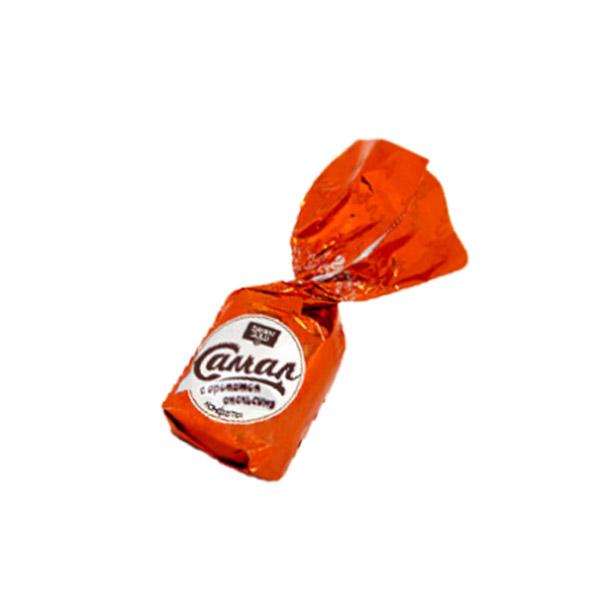 Самал апельсин конфеты 1 кг (Баян сулу)