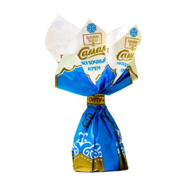 Самал молочный крем конфеты 0,5 кг (Баян сулу)