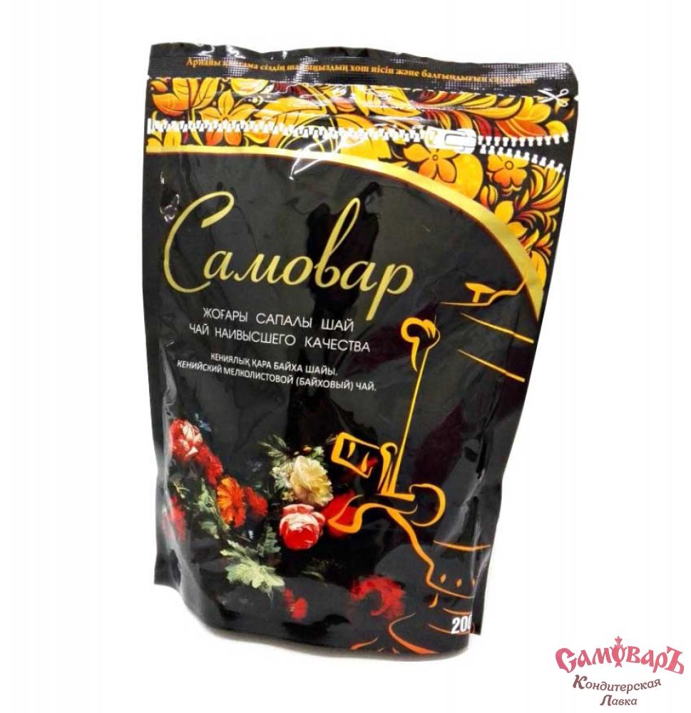 Чай Самовар кенийский мелколистовой ЗИП-пакет 200 гр.
