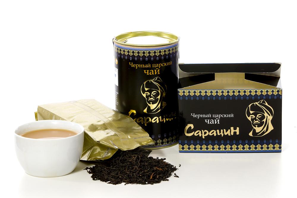 Чай Сарацин крупнолистовой кенийский 150 гр.
