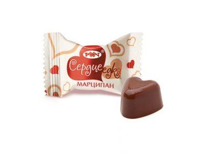 Сердцеедка марципан конфеты 1 кг (Рахат)