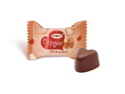 Сердцеедка пралине конфеты 1 кг (Рахат)