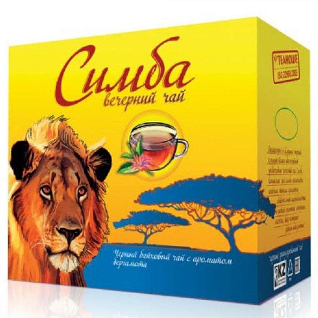 Чай Симба Вечерний ( с бергамотом)Кения 250 гр