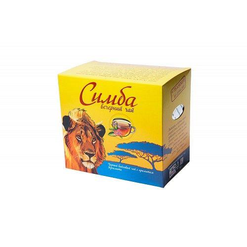 Чай Симба Вечерний(с бергамотом) Кения 100 гр
