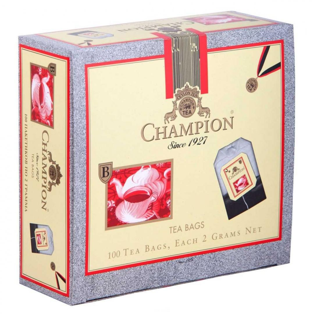 Чай Чемпион Пеко (Champion Pekoe) 100пак
