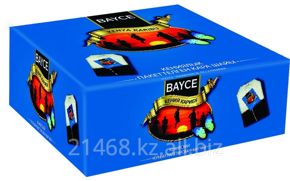 Чай Байджи Кения Карибу (Bayce Kenya Karibu) 100 пак