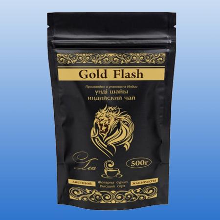 Чай Голд Флэш Индия Листовой 500 гр