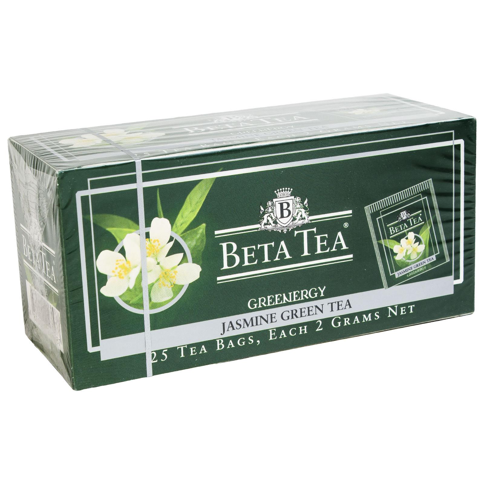 Чай Бета Зеленый 25 пак