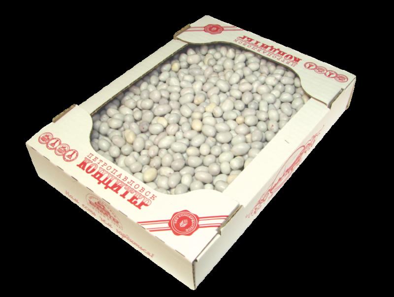Арахис в белой глазури 1, 5 кг (Петрокондитер)