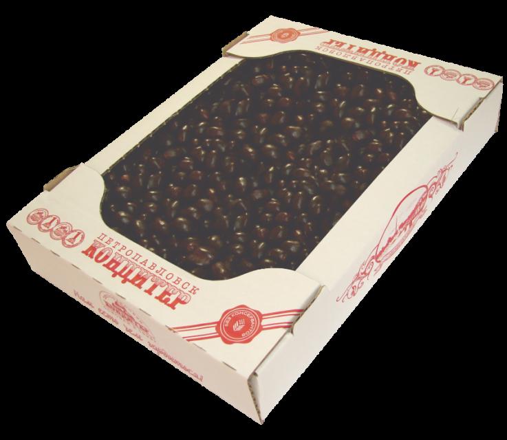 Арахис в темной глазури 1, 5 кг (Петрокондитер)