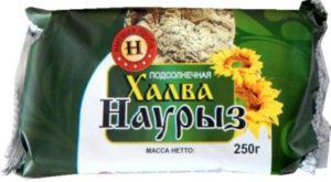 Халва подсолнечная Наурыз 250 гр (Тараз)
