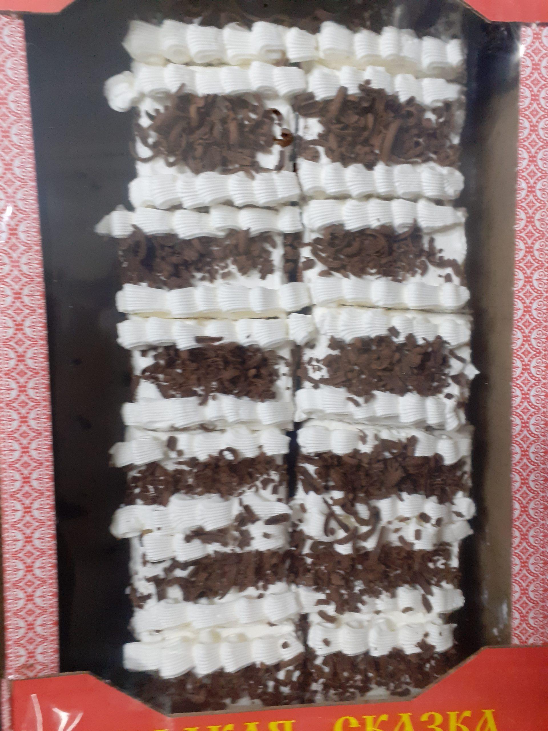Пирожное Мадлен 1,5 кг (Сладкая Сказка)