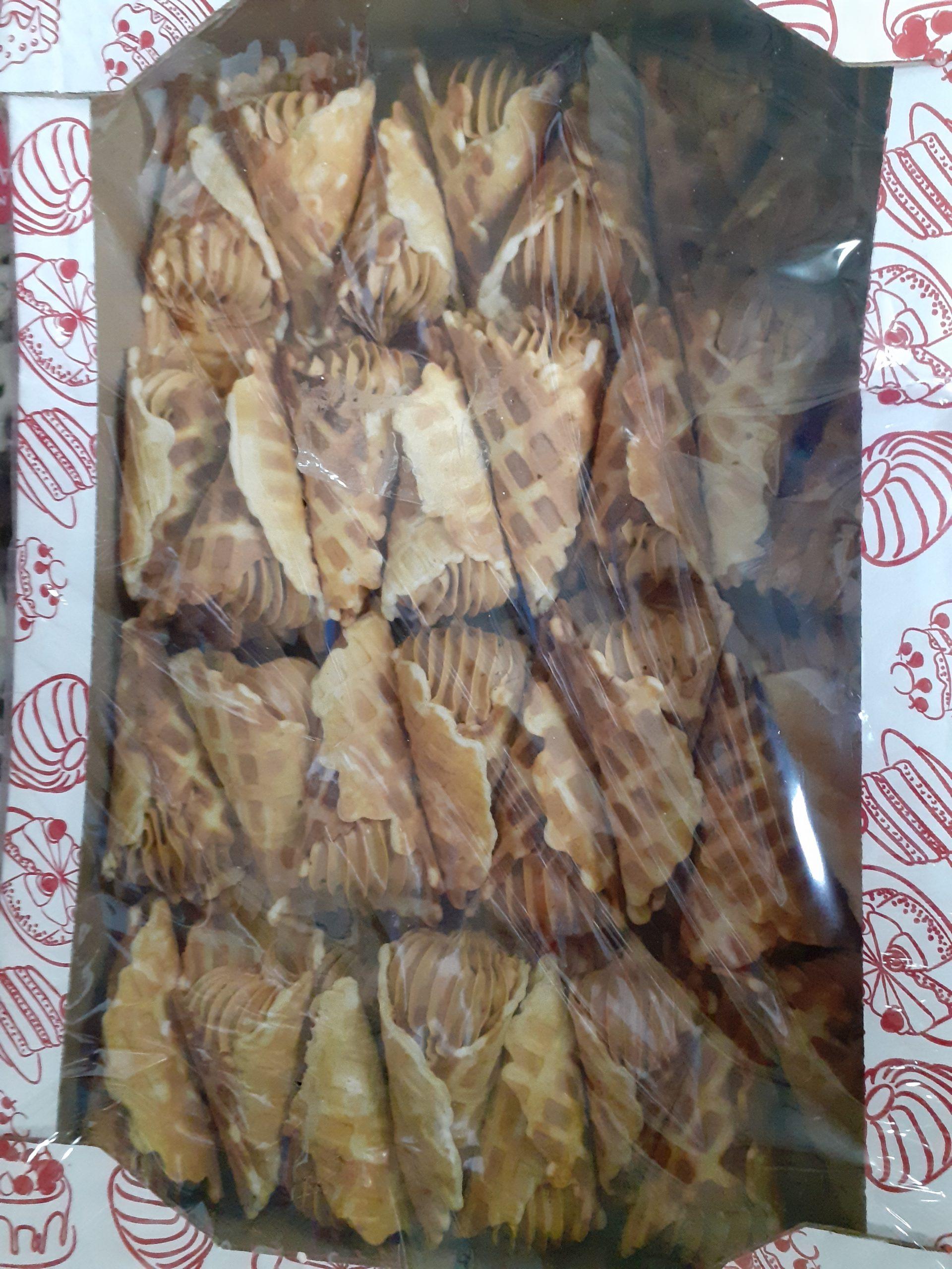 Трубочки с начинкой крем брюле 2,5 кг (Бабаян)